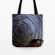 Star Trails Tote Bag