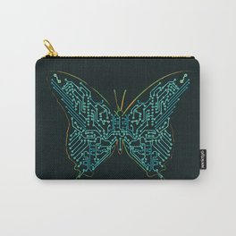 Mechanical Butterfly Carry-All Pouch