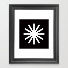 * Asterisk  Framed Art Print