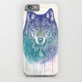 I Dream of Wolf iPhone Case
