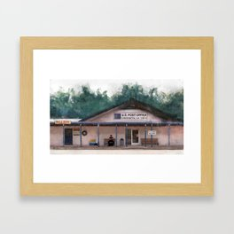 Coushatta Post Office - Better Call Saul Framed Art Print