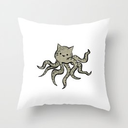 minima - octopuss Throw Pillow