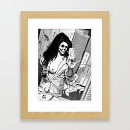 La belle entourloupe (A pretty trick) Framed Art Print