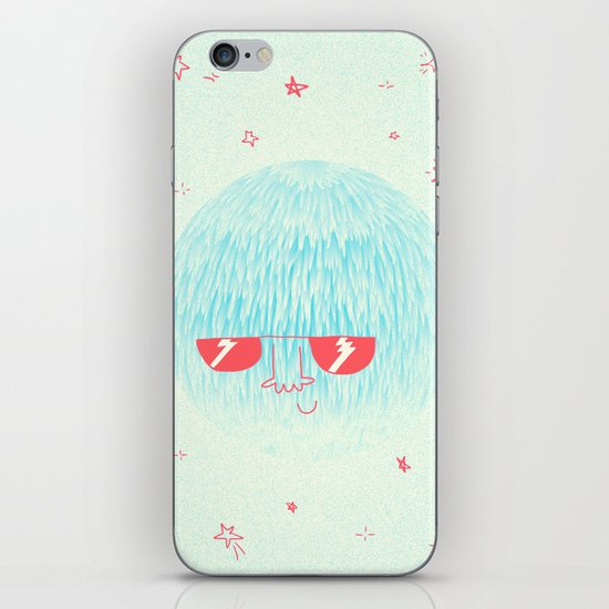 Chill Space Planet iPhone & iPod Skin