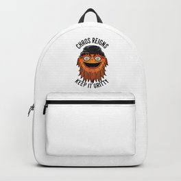 Chaos Reigns Keep It Gritty Backpack