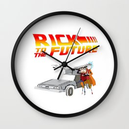 Rick Back to the Future Wall Clock