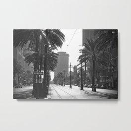 Canal Street Metal Print