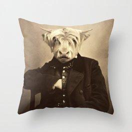 Lulach McCleod Throw Pillow