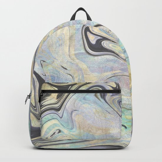 Mermaid Marble Backpack