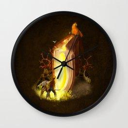 The Pirate Book Wall Clock