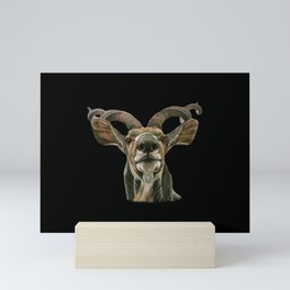 Greater African Kudu Painting Mini Art Print