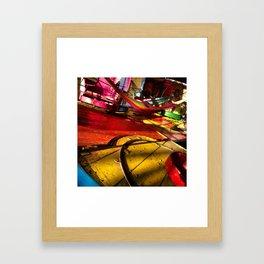 Ferias y Juegos Mecanicos Framed Art Print