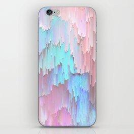 Pastel Glitches Fall iPhone Skin