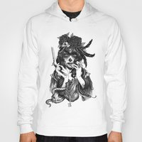 film Hoodies featuring Chicana by Rudy Faber