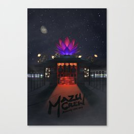 Mazu Crew Poster Canvas Print