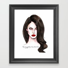 Serial Killer  Framed Art Print
