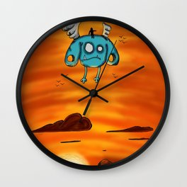 Flying Adventure Pals Wall Clock