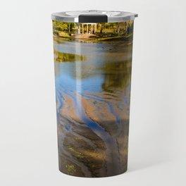 Lake patterns,Larz Aderson park Travel Mug