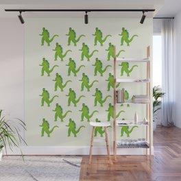 Godzilla pattern Wall Mural