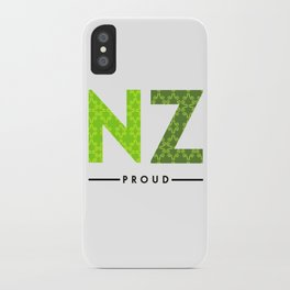 NZ PROUD iPhone Case