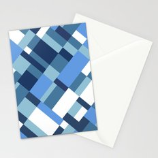 Map 45 Blues Stationery Cards