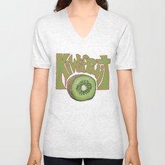 Kiwifruit. Unisex V-Neck