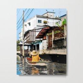 Bangkok Lifestyle Metal Print