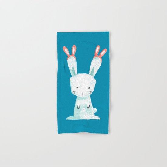 Four Eared Bunny Hand & Bath Towel