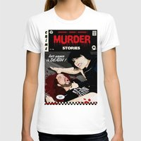dramatical murder T-shirts featuring MURDER STORIES by Thomas B.- Rock Artwork