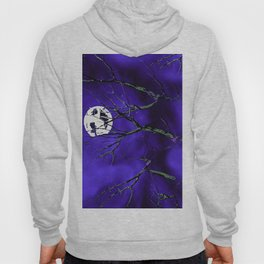 Tree Branches and a Silver Moon Hoody