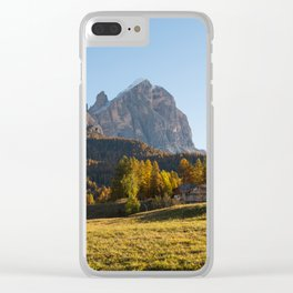 Dolomites 24 - Italy Clear iPhone Case