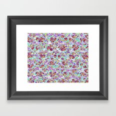Pattern fantasy (2) Framed Art Print