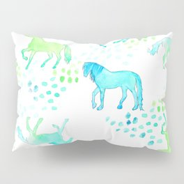 Horse of Many Colors Pillow Sham