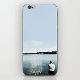 Waiting for the Hint of a Spark iPhone Skin