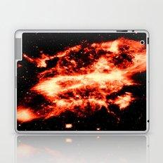 Amber Nebula Laptop & iPad Skin