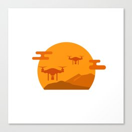 Drone Wars Canvas Print