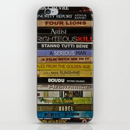 DVD Films iPhone Skin