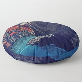 Hunker Down at Risna Floor Pillow