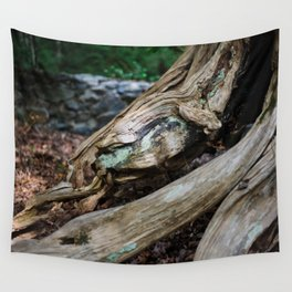 Jewel in the Wood Wall Tapestry