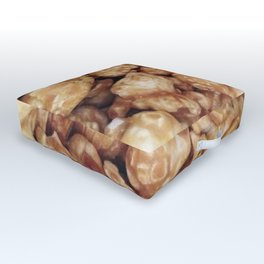 CARAMEL POPCORN Outdoor Floor Cushion