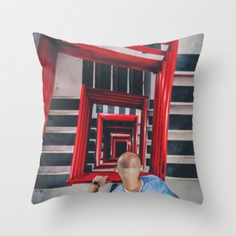 The Debate Throw Pillow