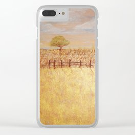 Mindscape Series Three, Painting Four, Redding C.A Clear iPhone Case