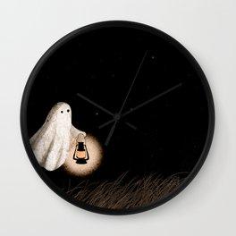 Twlilight Walk Wall Clock