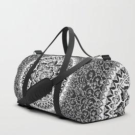 Yin Yang Mandala Pattern Duffle Bag