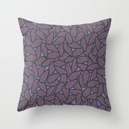 Pink Seads Throw Pillow