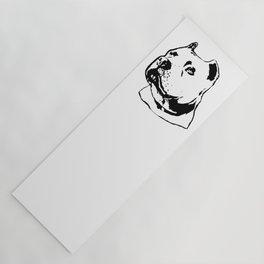 PITT-BULL TERRIER DOG Yoga Mat