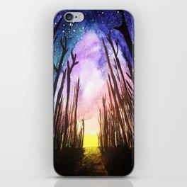 Twilight Woods iPhone Skin