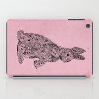 rabbit iPad Cases featuring Rabbit by Suburban Bird Designs