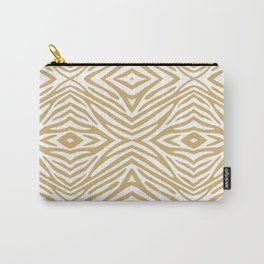 Putty Neutral Zebra Carry-All Pouch