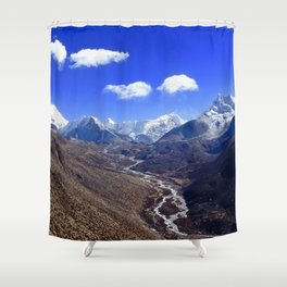 Himalayan Valley Shower Curtain